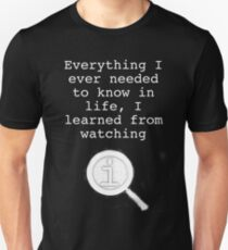 I learned from watching QI Unisex T-Shirt