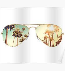 LA glasses  Poster