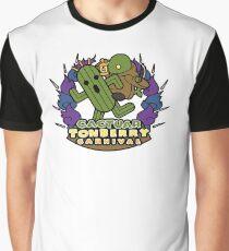 Cactuar Tonberry Carnival Graphic T-Shirt