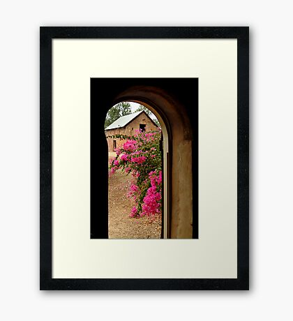Outback Homestead,Northern Territory Framed Print