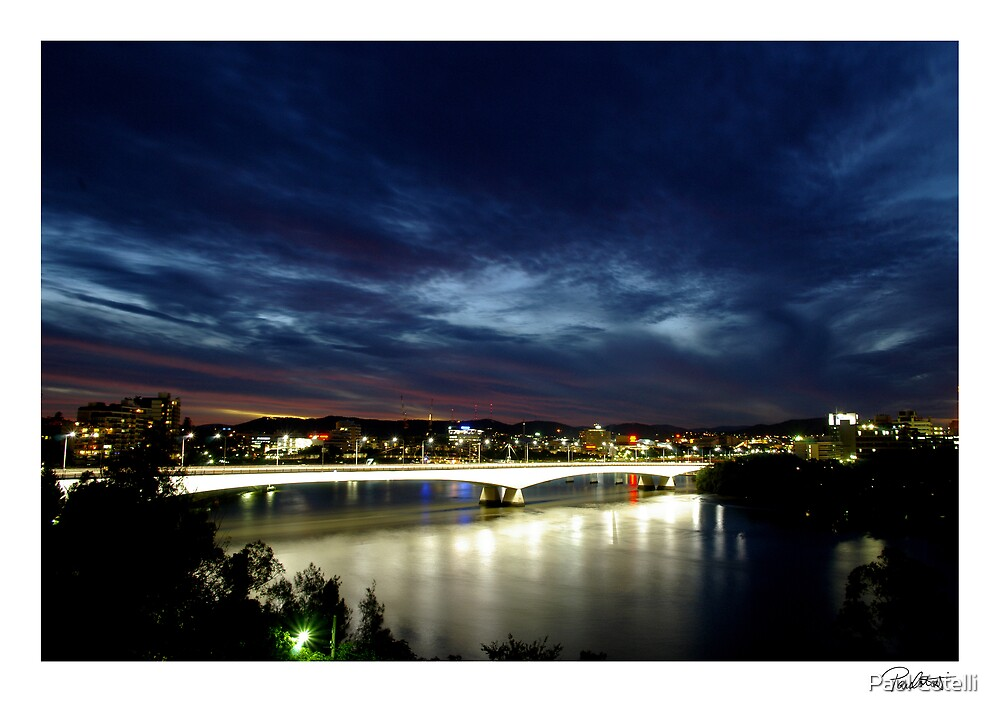 Brisbane Sunset by Paul Cotelli