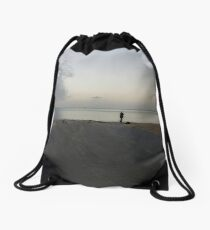 Bay fishing Drawstring Bag