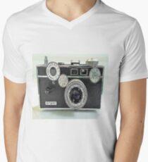 """Argus C3 """"The Brick""""  Mens V-Neck T-Shirt"""