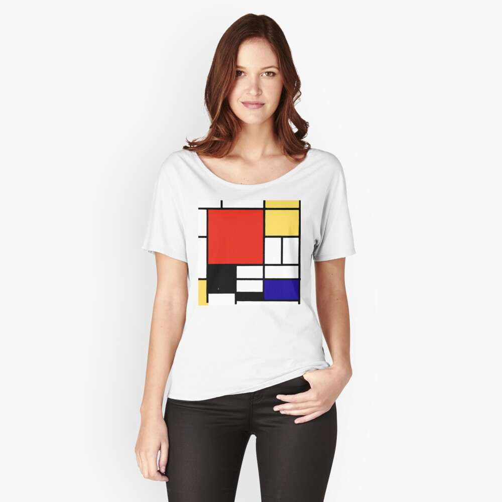 Mondrian  Relaxed Fit T-Shirt