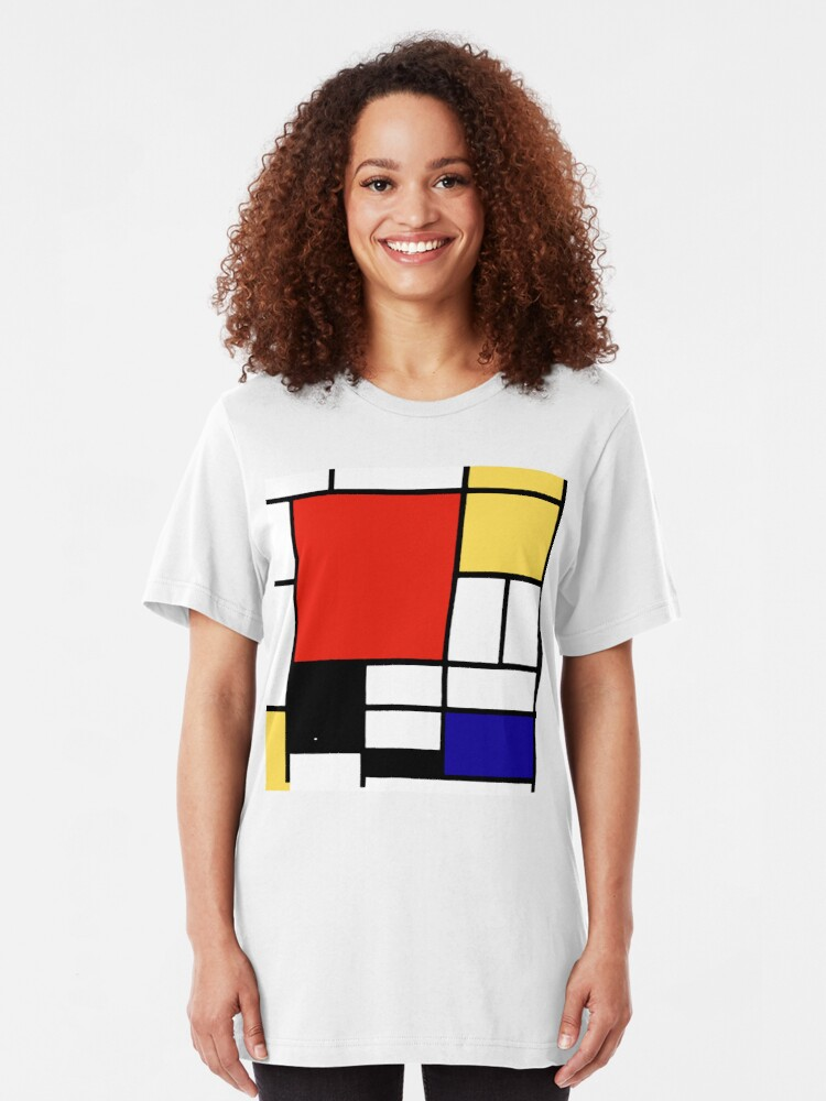 Alternate view of Mondrian  Slim Fit T-Shirt
