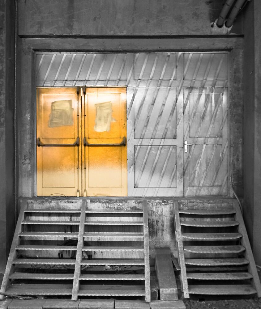 Yellow Underground by mindfeeder