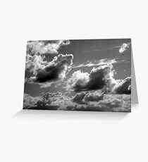 Fall Sky - Clouds Greeting Card