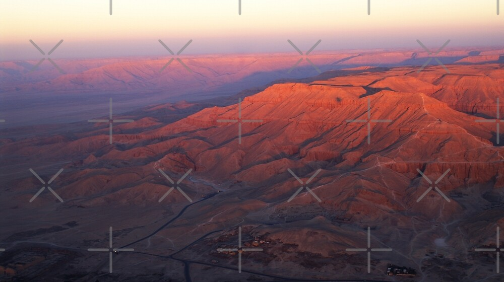 Valley of the Kings at Dawn by SHappe