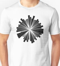 Abstract Motif Unisex T-Shirt