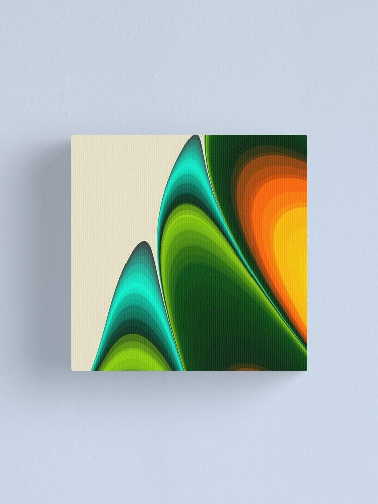 Alternate view of Dividing Canvas Print