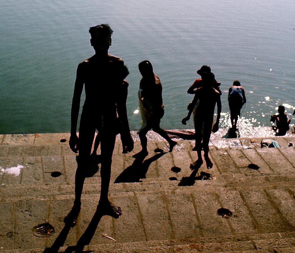 Chenai Bathing Ghat by Bruce  Watson