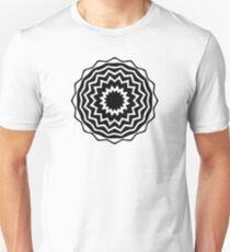 Abstract Vortex Design T-Shirt
