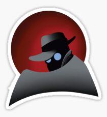 Beware the Gray Ghost!!! Sticker