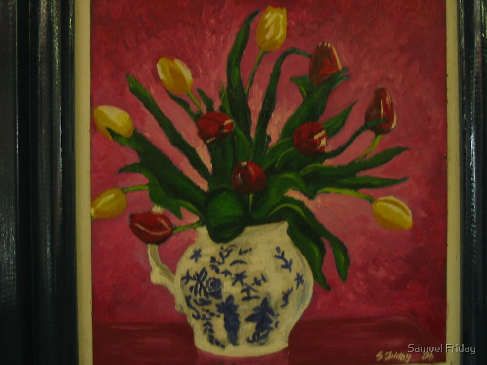 tulips by Samuel Friday
