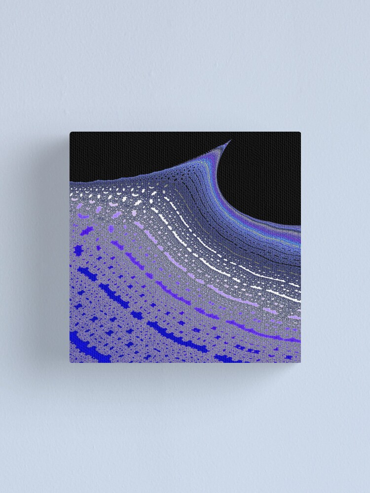 Alternate view of Ghostly Wave Canvas Print