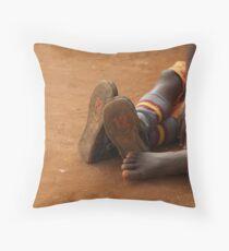 Ugandan Children Throw Pillow