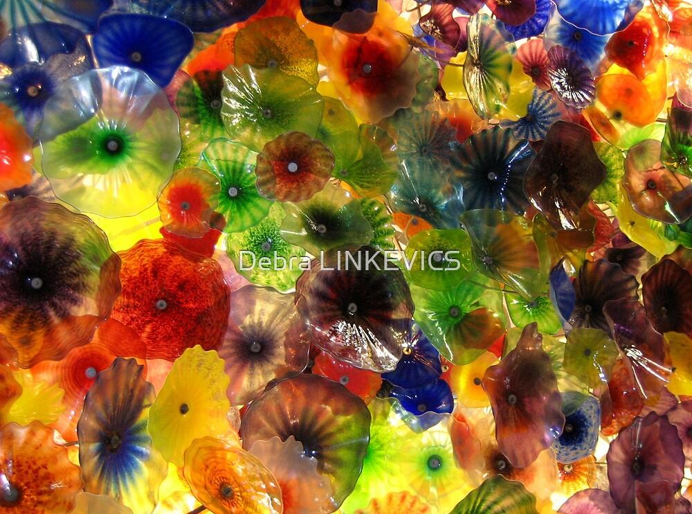Glass Flowers by Debra LINKEVICS