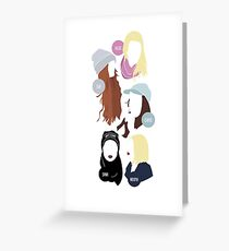 SKAM - The Girl Squad Version II. Greeting Card