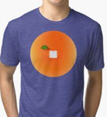 Orange out of the box Tri-blend T-Shirt