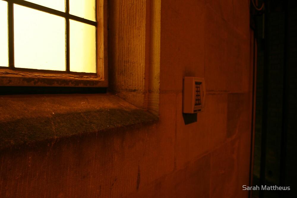 Illuminated Window by Sarah Matthews