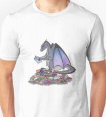 Book Dragon Unisex T-Shirt