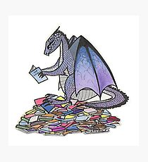 Book Dragon Photographic Print