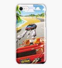 OUT RUN - CLASSIC FLYER iPhone Case/Skin