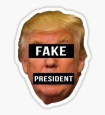 Fake President Sticker