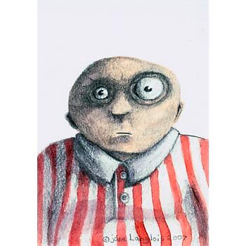 Stripe Man by janelanglois