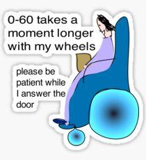 Please wait Postie! Sticker