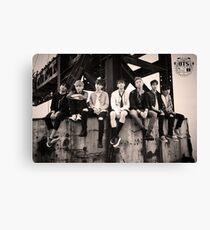 BTS - poster Canvas Print