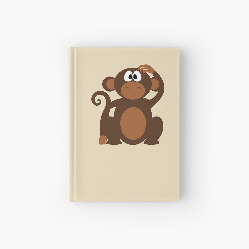 Cuaderno De Tapa Dura Dibujos Animados Lindo Divertido Confundido