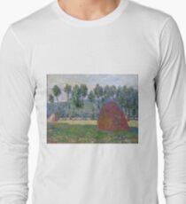 Claude Monet - Haystack At Giverny, 1885 T-Shirt