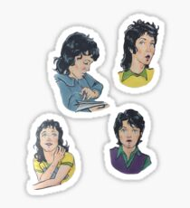 The Mullet Years Sticker
