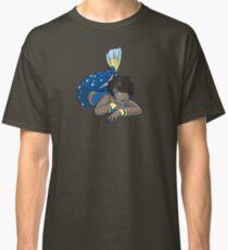 Cute Funny Cartoon MermaidCharacter Doodle Animal Drawing Classic T-Shirt