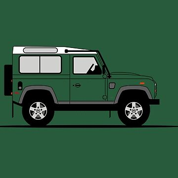 A Graphical Interpretation of the Defender 90 Station Wagon NAS by 3pedaldriving