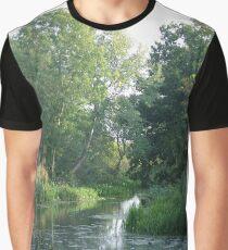 Traditional Beautiful English Countryside Graphic T-Shirt