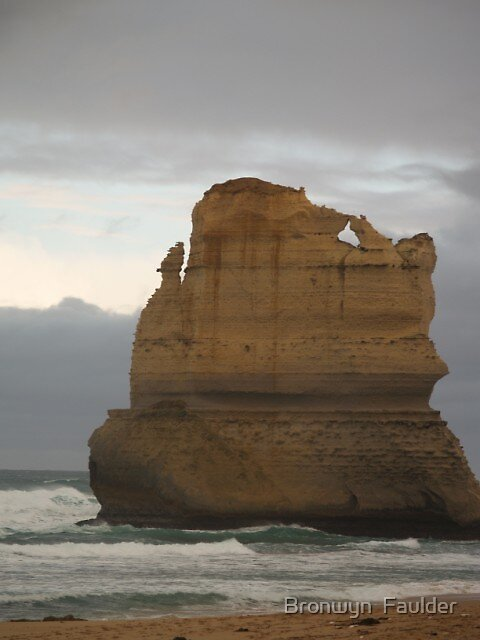 A stack along the Great Ocean Road by Bronwyn  Faulder