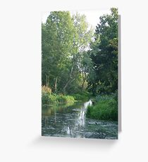 Traditional Beautiful English Countryside Greeting Card