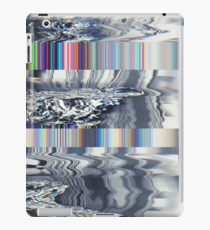 Digital Signal Glitch TV Television Static Cool Retro iPad Case/Skin