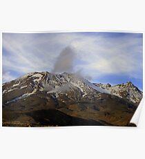 Mt. Ruapehu Poster