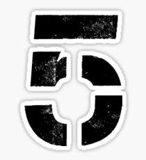 We Are onto 5 Sticker