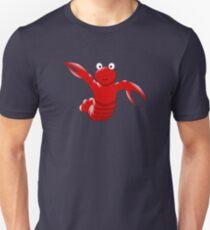 Cute Funny Cartoon Sea Ocean Lobster Character Doodle Animal Drawing Unisex T-Shirt