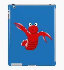 Cute Funny Cartoon Sea Ocean Lobster Character Doodle Animal Drawing iPad Case/Skin