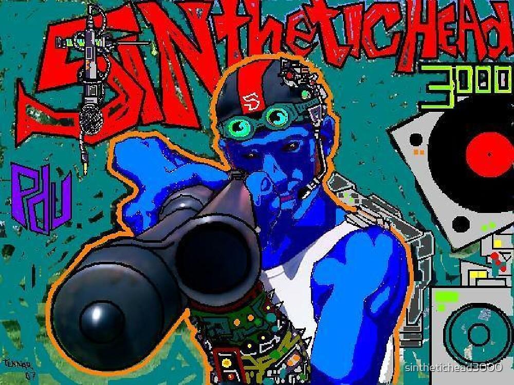 Cyber SIN by sinthetichead3000