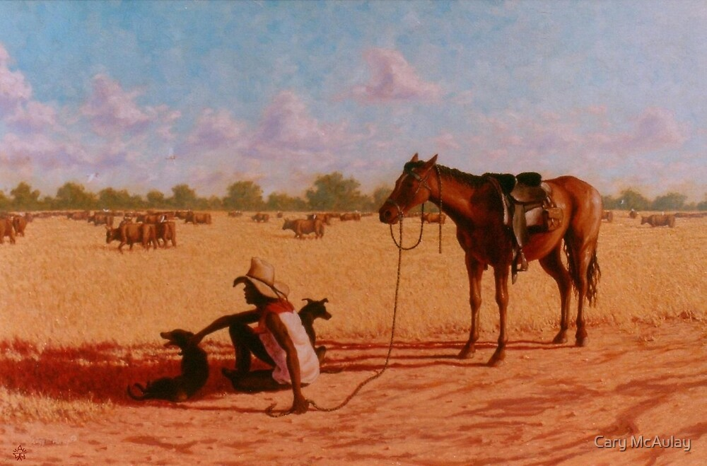A Stockman's Rest by Cary McAulay