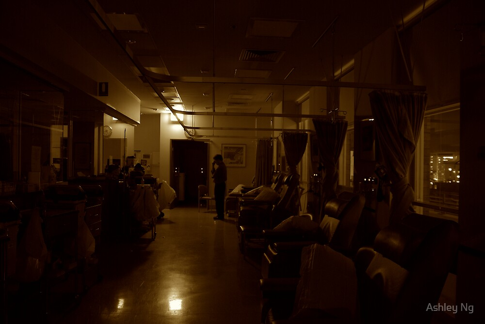 Silent Night on the Chemo Ward by Ashley Ng