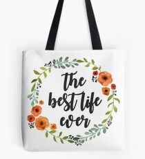 Corona flores the best live ever Tote Bag