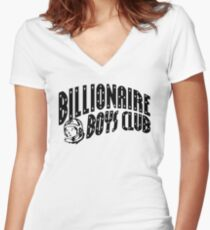 BBC - billionaire boys club Women's Fitted V-Neck T-Shirt