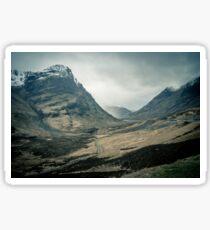 Scottish Highlands Sticker
